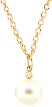Irene Neuwirth JEWELRY South Sea Pearl And Diamond Charm