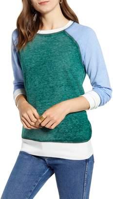 Treasure & Bond Colorblock Crewneck Sweatshirt