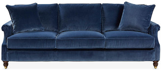 Webster Sofa - Marine Blue - Miles Talbott