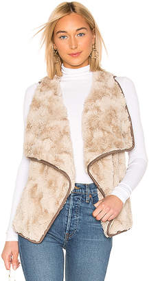 BB Dakota JACK by Most Valuable Layer Faux Fur Vest