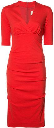 Nicole Miller empire line midi dress $295 thestylecure.com