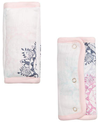 Aden Anais Aden By Aden + Anais aden by aden + anais 2-Pk. Printed Strap Covers, Baby Girls