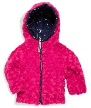 Saks Fifth Avenue Little Girl's Star Hooded Jacket