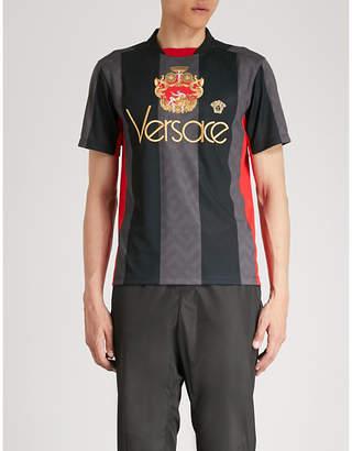 Versace Baroque-print jersey T-shirt