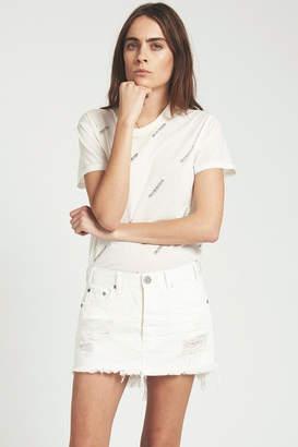 One Teaspoon Chalk Junkyard Skirt