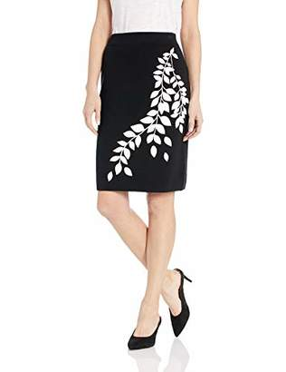 Calvin Klein Women's Graphic Sweater Skirt