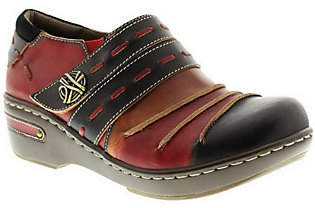 Spring Step L'Artiste by Leather Clogs - Sherbet
