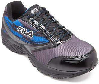 Fila Memory Meiera 2 Composite Toe Slip-Resistant Work Shoes Mens Running Shoes
