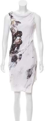 Helmut Lang Printed Sleeveless Dress