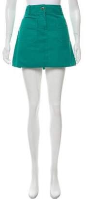 Louis Vuitton Woven Mini Skirt