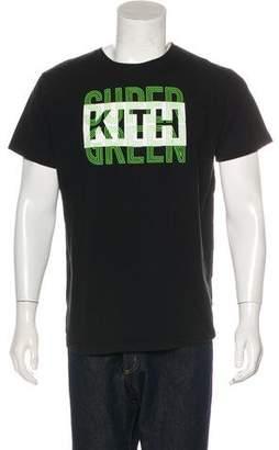 KITH NYC Woven Graphic T-shirt