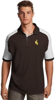 Antigua Men's Wyoming Cowboys Century Polo
