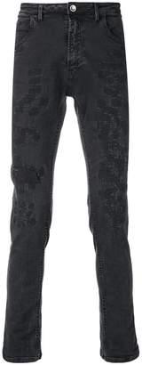 Poème Bohémien distressed slim-fit jeans