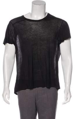Rick Owens Scoop Neck T-Shirt