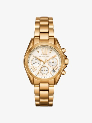 Michael Kors Bradshaw Gold-Tone Watch