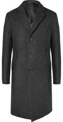 Officine Generale Slim-Fit Wool Overcoat