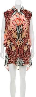 Thakoon Sleeveless Printed Dress