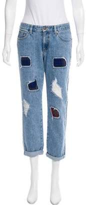 Sjyp Mid-Rise Jeans