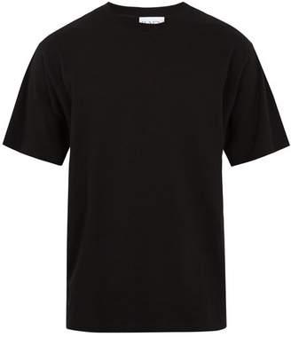 Raey Crew Neck Cotton Jersey T Shirt - Mens - Black