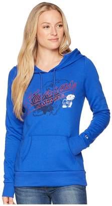 Champion College Kansas Jayhawks Eco University Fleece Hoodie Women's Sweatshirt