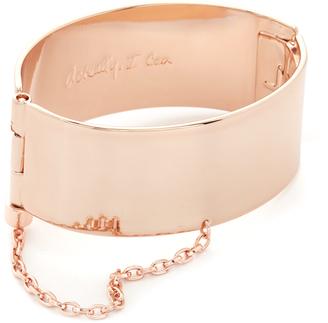 Rebecca Minkoff Handcuff with Chain Bracelet $68 thestylecure.com