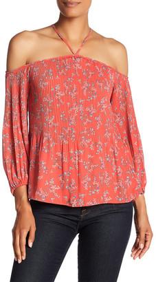 Jessica Simpson Anita Floral Print Blouse $59.50 thestylecure.com
