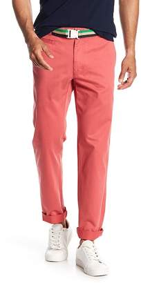 Louis Raphael Flat Front Twill Chino Pants