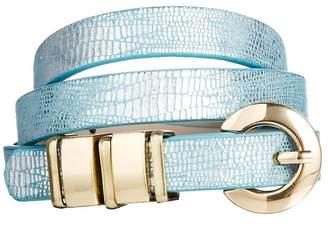 Asos Design Chunky Metal Keeper Waist Belt