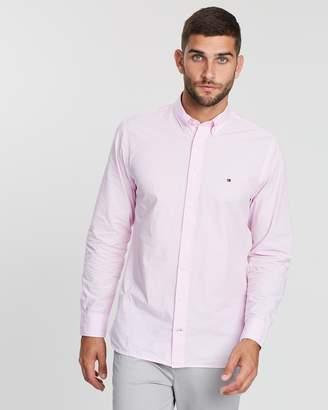 Tommy Hilfiger Garment Dyed Poplin Shirt