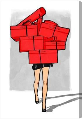 Oliver Gal Italian Box Overload (Canvas)