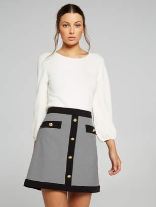 Portmans Australia Chelsea Mini Check Skirt