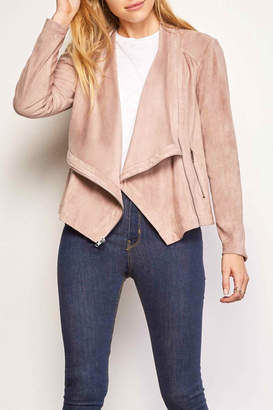 Cupcakes And Cashmere Holt Faux-Suede Jacket