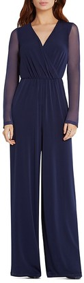 BCBGeneration Wide Leg Jumpsuit $108 thestylecure.com