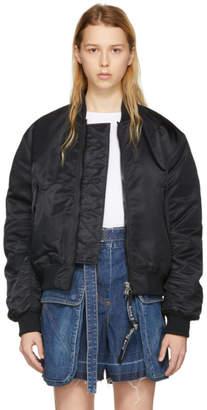 Acne Studios Black Clea Bomber Jacket