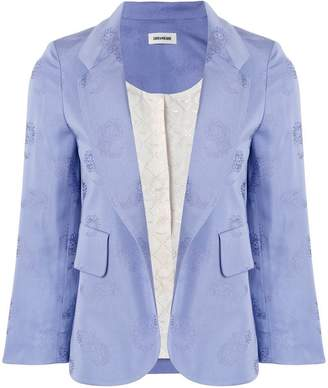 Zadig & Voltaire Zadig&Voltaire classic fitted blazer