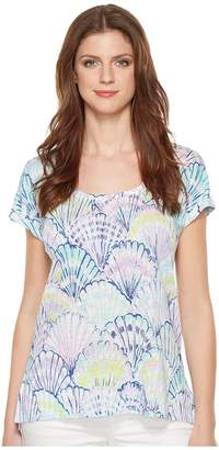 Lilly Pulitzer Inara Linen Beach Top Women's Clothing