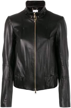 Patrizia Pepe buckle collar jacket