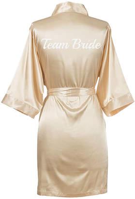 Cathy's Concepts CATHYS CONCEPTS Team Bride Satin Robe