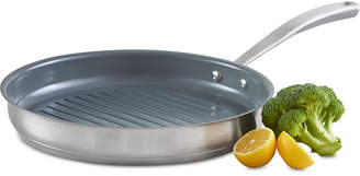 """Martha Stewart Collection 11"""" Grill Pan, Created for Macy's"""