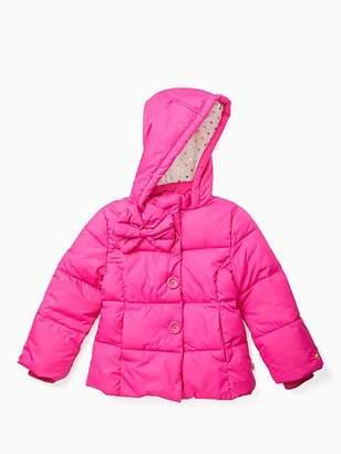 Kate Spade Toddler bow puffer coat
