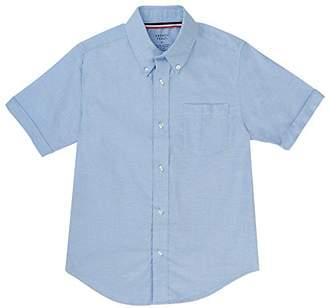 French Toast Men's Short Sleeve Oxford Shirt