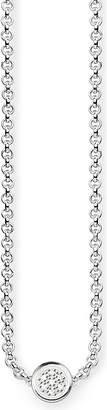 Thomas Sabo Glam & Soul sterling silver and diamond necklace