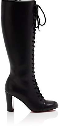 Christian Louboutin Women's La Horissima Leather Knee Boots