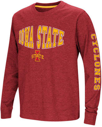 Colosseum Iowa State Cyclones Spike Long Sleeve T-Shirt, Big Boys (8-20)