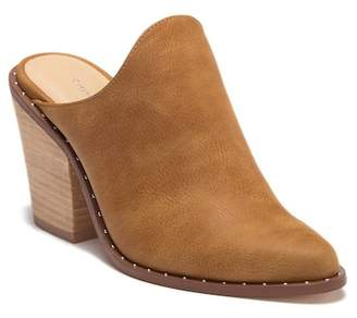 Chinese Laundry Kingston Suede Block Heel Mule