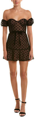 For Love & Lemons Dotty Shift Dress