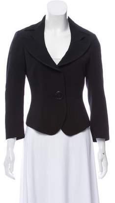 Antonio Berardi Woven Button-Up Blazer