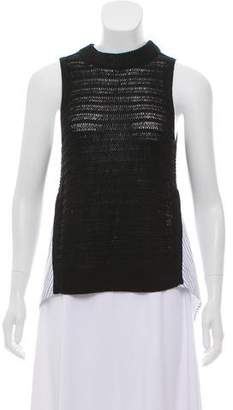 Veronica Beard Sleeveless Knit Top