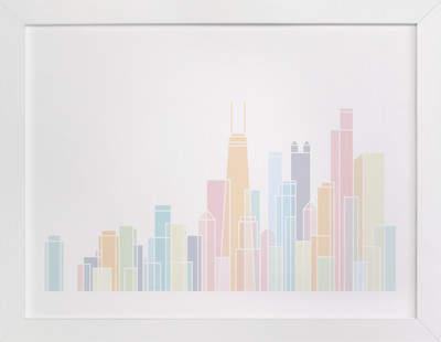 Sky Lines Children's Art Print