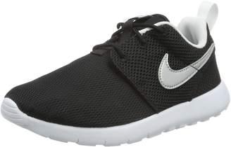 Nike Roshe One Black White Mesh Trainers US